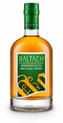 BALTACH Wismarian Peated Single Malt Whisky, 0,5 l - ABFÜLLUNG 1 OKTOBER 2018